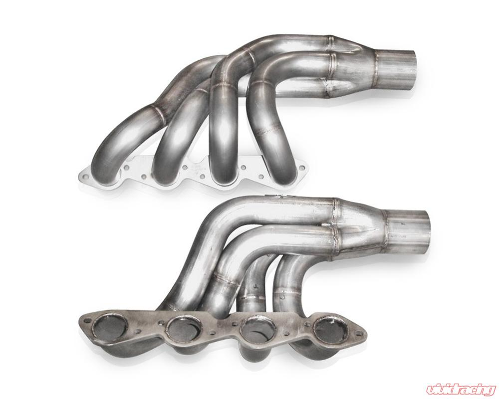 Stainless Works BB Chevy Up and Forward Turbo Headers 2-1/4in Primaries  3 5in Slip Fit Collectors