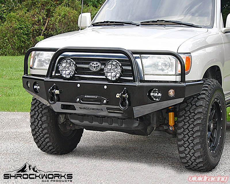 Toyota 4runner Bumper >> Shrockworks Front Bumper Toyota 4runner 96 02