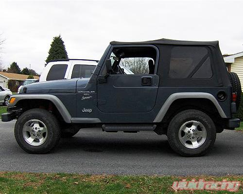 Jeep Wrangler Tj 2 5 Inch Lift