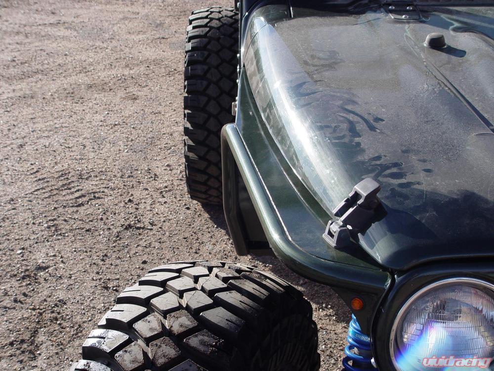 Tphf Jeep Tj Tube Fenders Phantom Flare High Clearance 97 06