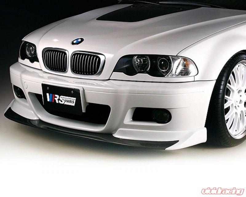 Varis Carbon Fiber And Frp Front Spoiler Bmw E46 M3 01 06