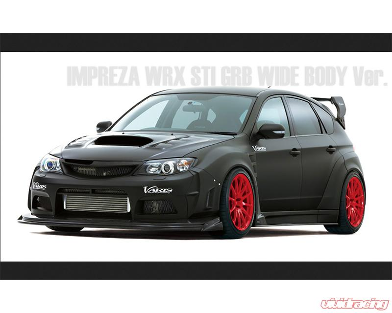 Varis Front FRP Wide Fender Kit Subaru WRX GRB 08-16