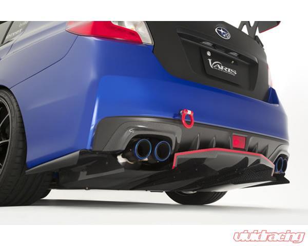 Subaru Wrx Parts >> Varis Replacement Parts Rear Diffuser Center Fin 1 Piece Subaru Wrx Vab 15 16