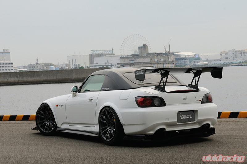 Voltex Wide Rear Fenders Honda S2000 00 09