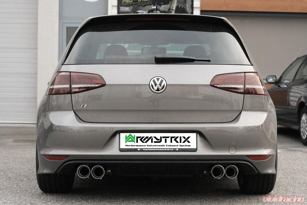 vwg7r qs11c armytrix stainless steel valvetronic catback exhaust system quad chrome silver