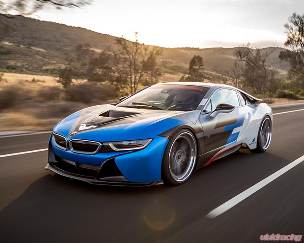 Vorsteiner Vr E Front Add On Spoiler Carbon Fiber Pp 2x2 Glossy Bmw I8