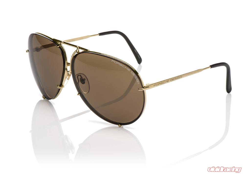 e3e66e45ec8 Porsche Driver Selection Gold Aviator Sun Glasses - WAP0784780JA69
