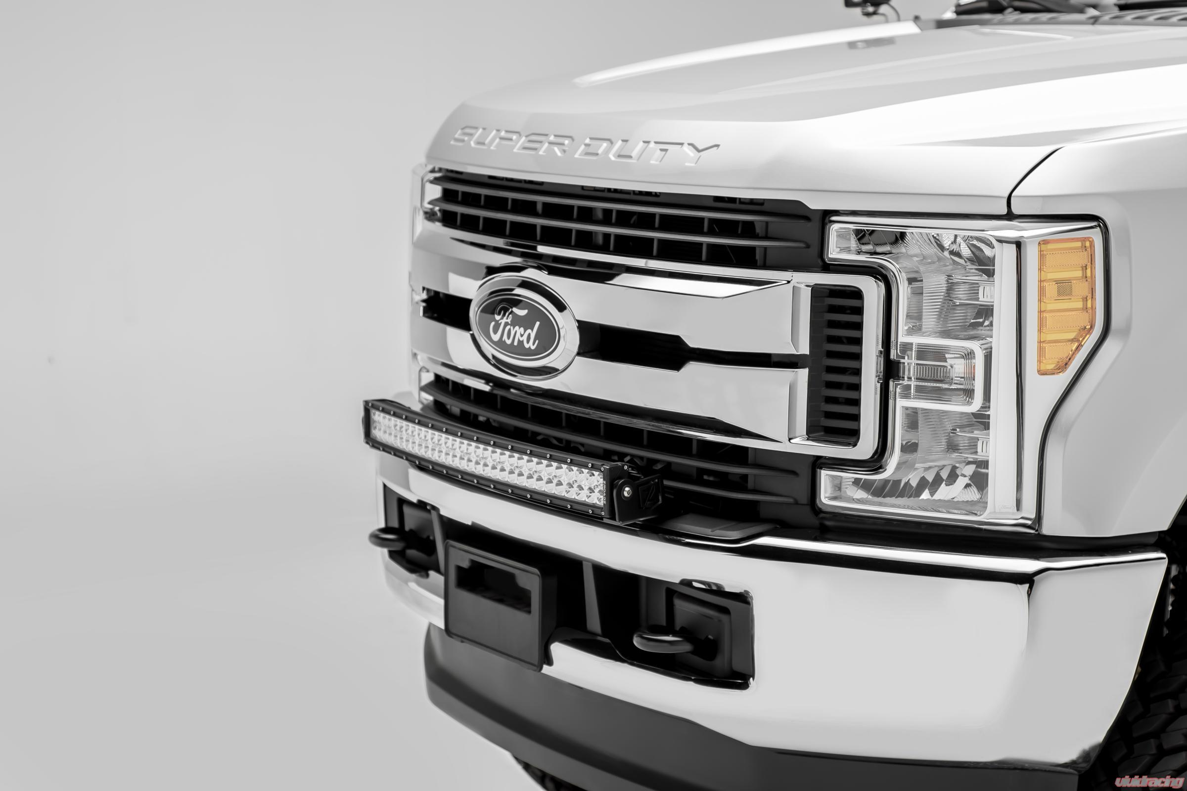 Ford F 250 Harness Free Wiring Diagram For You 2017 Silverado Trailer Z325472 Kit Front Bumper Top Led Light Bar Rh Vividracing Com 150 1999 F250