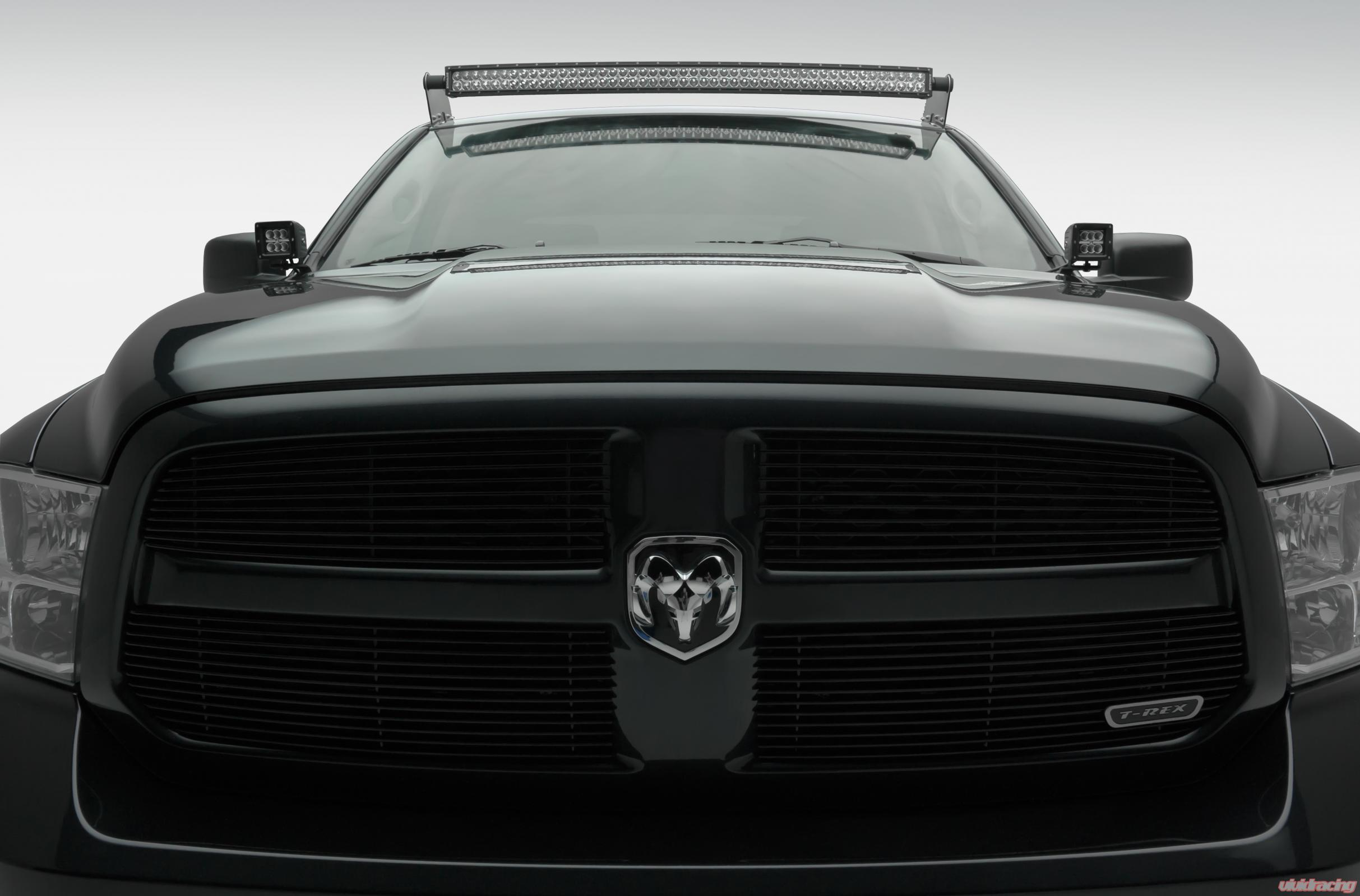 Z334521 Kit C Front Roof Led Light Bar Mount 2009 2017 Dodge 50 Inch Wiring Harness Ram 1500 W