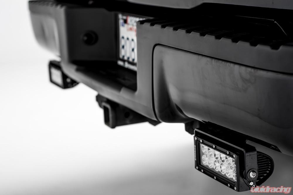 Rear Bumper Frame Led Light Bar Mounts   Ford F   Inch