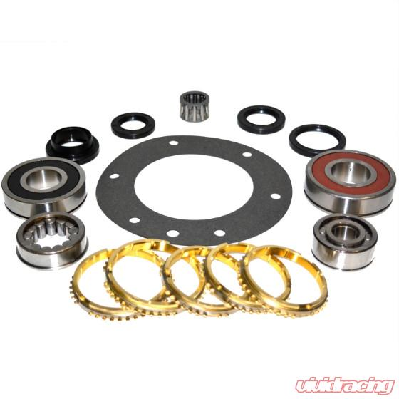 AX15 Transmission Bearing/Seal Kit w/Synchro Rings Jeep  Cherokee/Comanche/Grand Cherokee/Grand Wagoneer/Wagoneer/Wrangler 5-Speed  Manual Trans USA