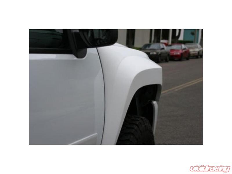 ADV Fiberglass Fenders 4 Inch Flare 2 Inch Rise Chevrolet Silverado 07-13