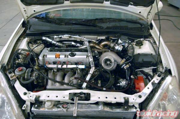 AFI Side Mount Race Turbo Kit Acura TSX K Series AcuraZine - Acura tsx turbo