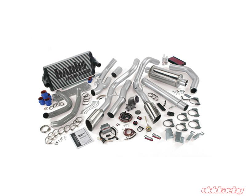 Banks Power Big Hoss Bundle Single Exhaust Stainless Steel Chrome Tip Ford  Excursion 2001