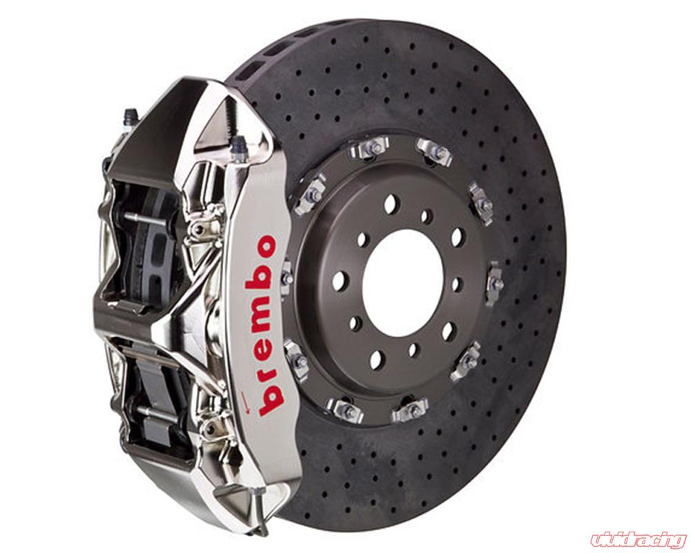 Brembo Brake Kit >> Brembo Gt R Ccm R 380x34 Ccm R 6 Piston Nickel Plated Drilled Front Big Brake Kit