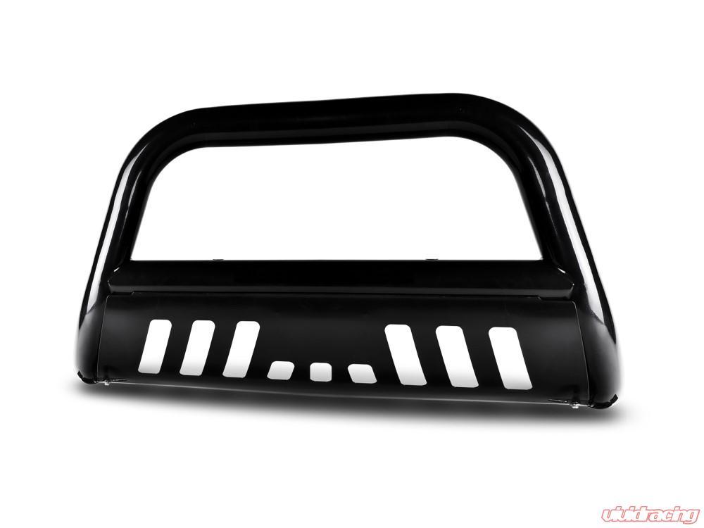 Black Bull Bar-for 2007-2015 GMC Yukon//Yukon XL 1pc Carbon Steel Front Bumper Grille Guard Yumy 3in