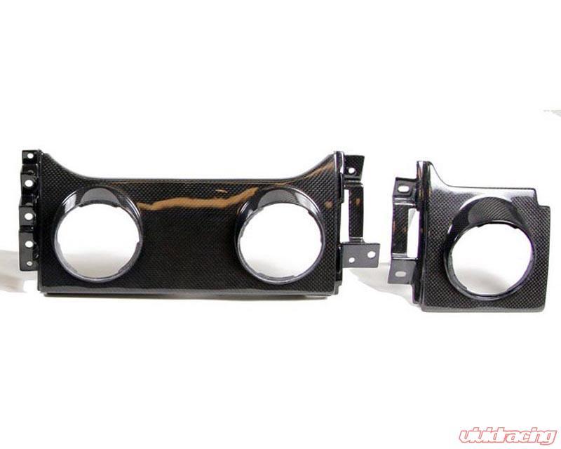 Carbign Craft CBI-MUGVENT Carbon Fiber Dash Panel with Vent for Ford Mustang