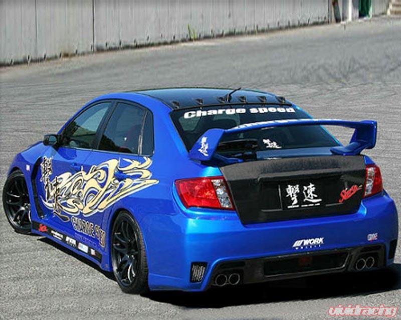 Chargespeed Super Gt Wide Body Kit Subaru Wrx Sedan 11 14