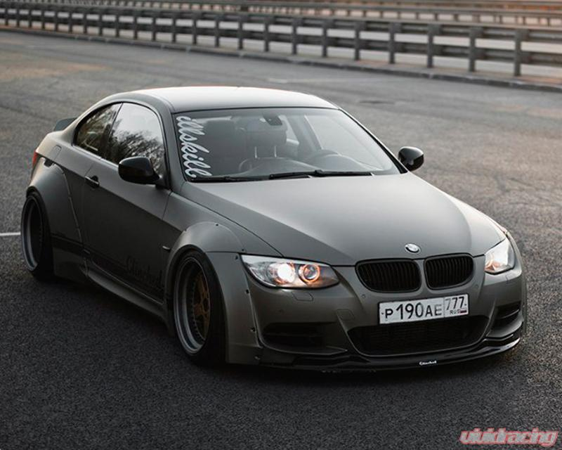 Clinched Flares Widebody Kit With Ducktail Spoiler Bmw 3 Series M3 E92 05 13