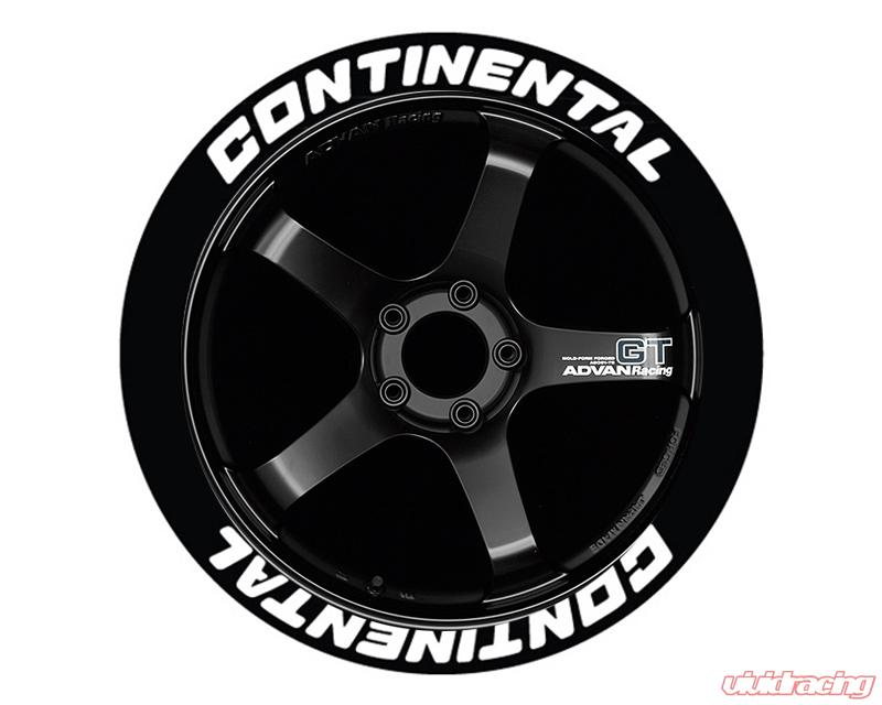 Continental Tire Stickers >> Tire Stickers Permanent Raised Rubber Lettering Continental