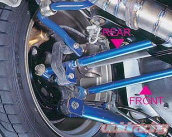 Cusco Rear Gt Lateral Links Front Bar Subaru Impreza 93 01
