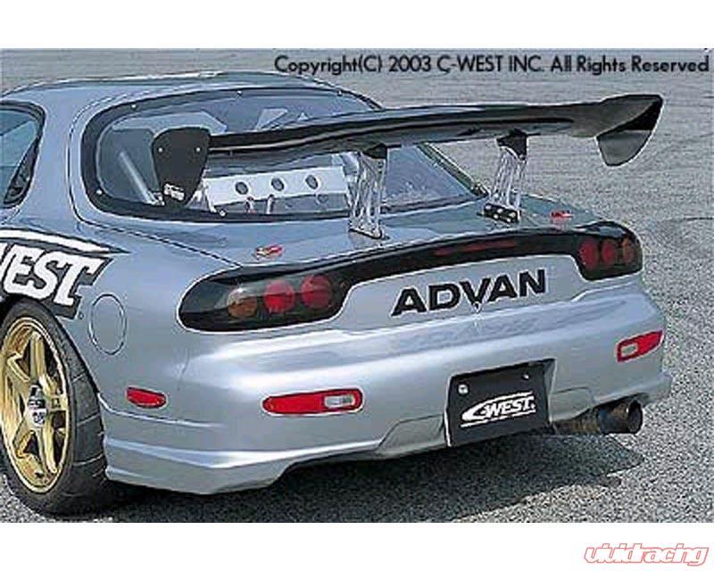 C-West Rear Bumper II Mazda RX7 92-03