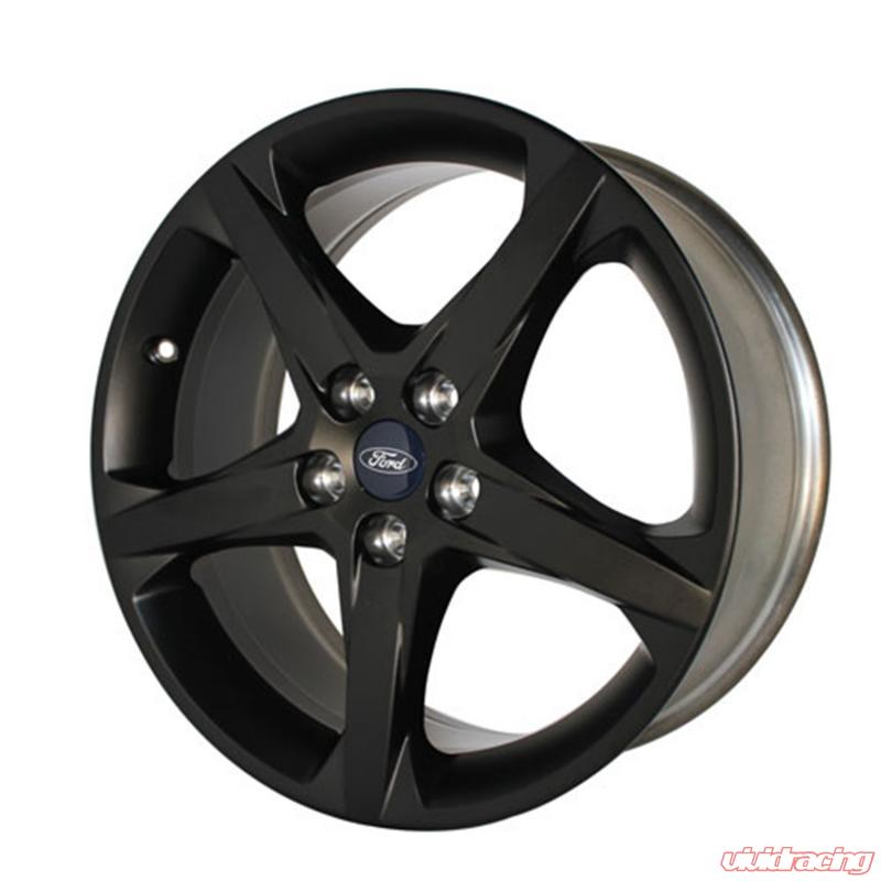 Focus St Wheels >> Ford Racing 2012 17 Focus St Wheel 18in X 8in Matte Black Ford N A 2 0l 4 Cyl