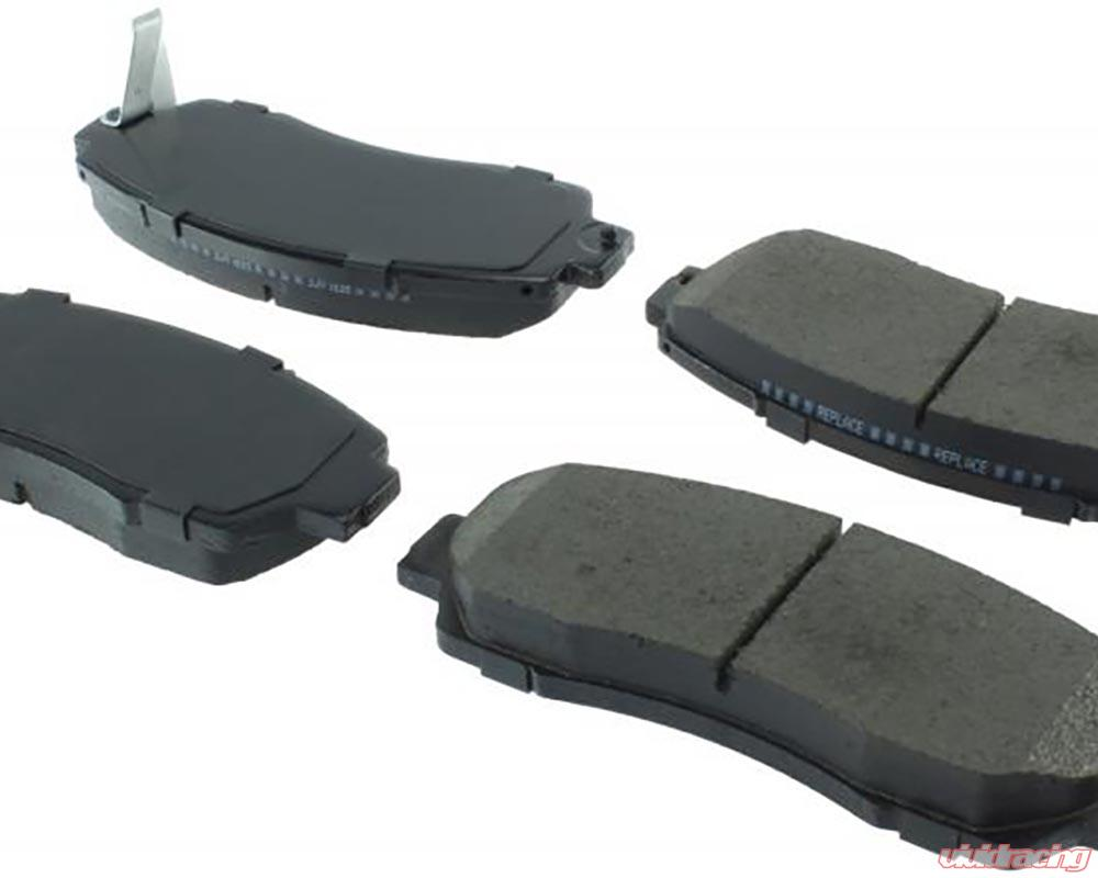 StopTech 308.05200 Street Brake Pads; Front with Shims