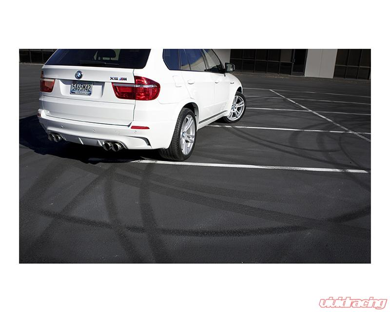 Dinan Free Flow Stainless Exhaust with Black Tips BMW X6 M E71 10-14