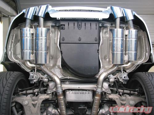 Eisenmann Stainless Axleback Exhaust 4x120x77mm Oval Tips