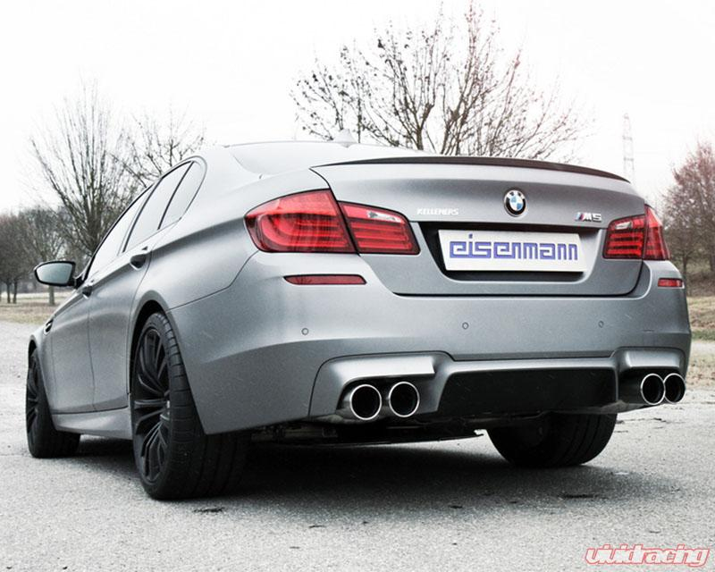 Eisenmann Performance Race Exhaust 4x102 Round Tip BMW M5 F10 12+