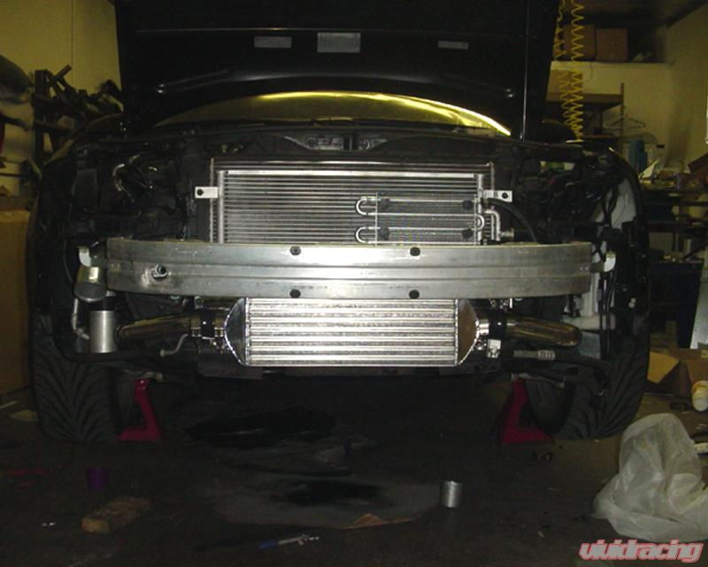 Evolution Racewerks Sports Series Polished Finish Front Mount Intercooler  Kit Audi A4 B6 1 8T 02-05
