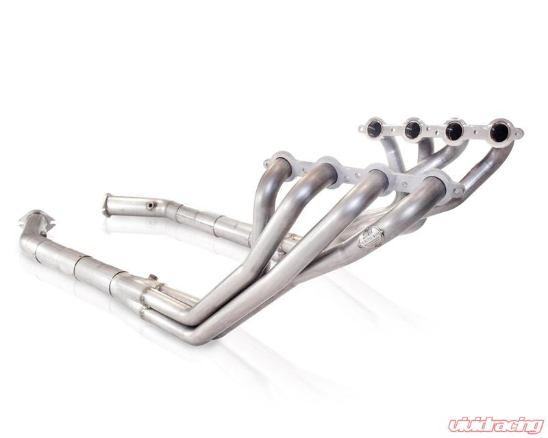 """45mm 1.75/"""" 3 Into 1 Stainless Steel Exhaust Manifold DOWNPIPE Collector V6 Kit"""