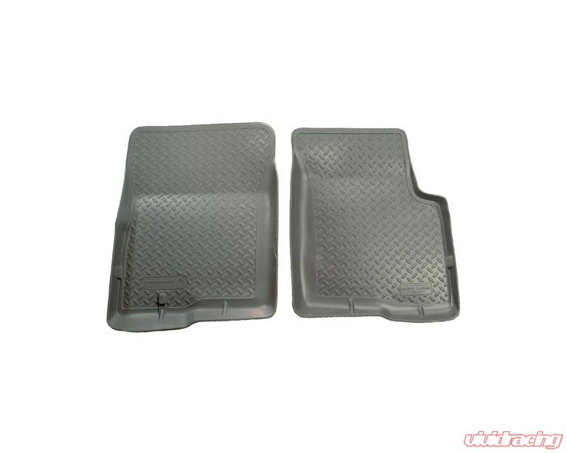 Husky Liners Classic Style Gray Front Floor Liners for 95-04 Toyota Tacoma