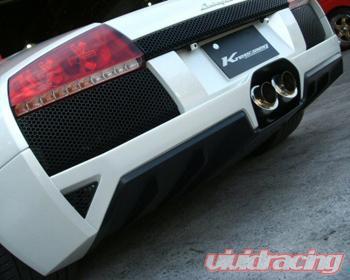 Kreissieg 2x80mm Valvetronic Header Back Lamborghini Murcielago