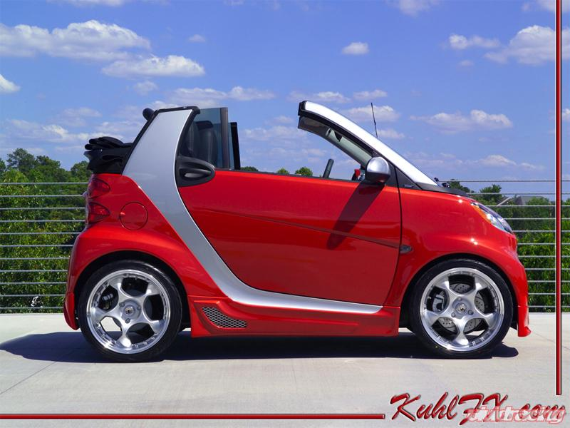 kuhl fx complete body kit for the smart fortwo car vivid racing news. Black Bedroom Furniture Sets. Home Design Ideas