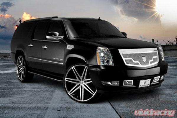 Lexani Bumper Mesh Grille Platinum Edition Cadillac