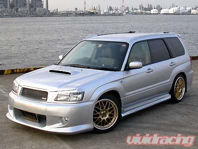 liberal full 5pc body kit subaru forester libfor05 kit liberal full 5pc body kit subaru forester