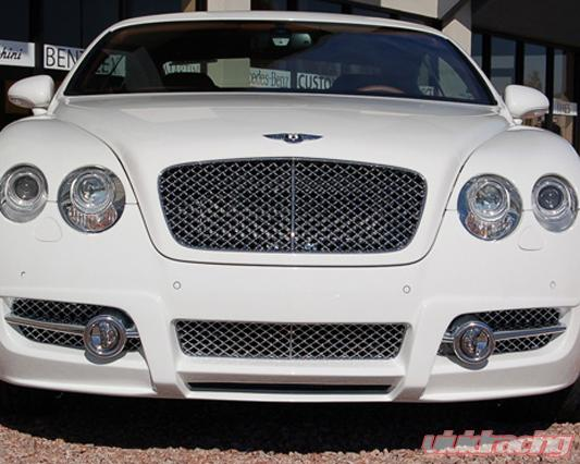 Mansory Black Chrome Grill Bentley Continental Gt Speed 03 10
