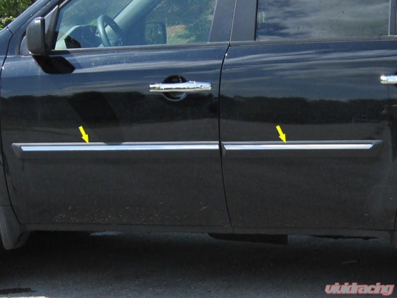 Honda Pilot Accessories >> Quality Automotive Accessories 4 Piece Stainless Body Molding Insert Trim Kit Honda Pilot 09 15