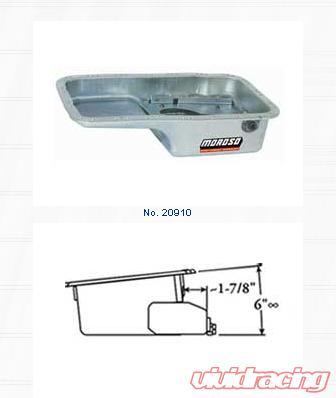 Moroso Steel Wet Sump Road Race Oil Pan Acura Integra 1 8L 90-01