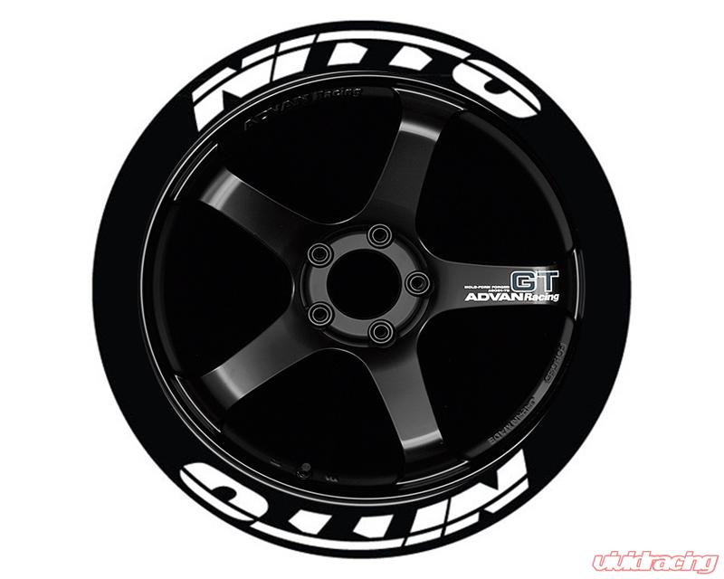 Nitto Tires With White Lettering >> Tire Stickers Permanent Raised Rubber Lettering Nitto