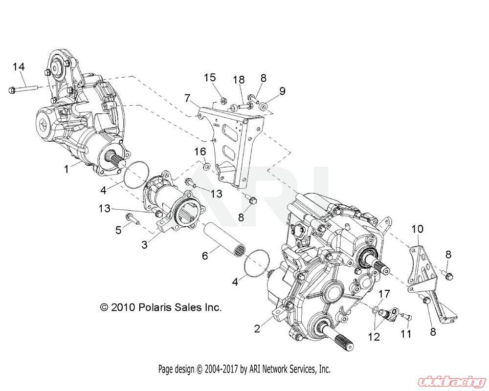 Polaris OEM ASM., CARRIER | 3235354Vivid Racing