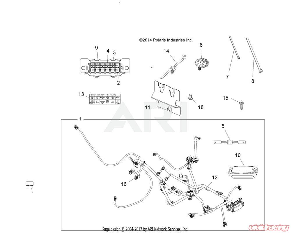 [DIAGRAM_3NM]  4012260 | Polaris OEM COVER, FUSE BOX | 6p Atv Fuse Box |  | Vivid Racing