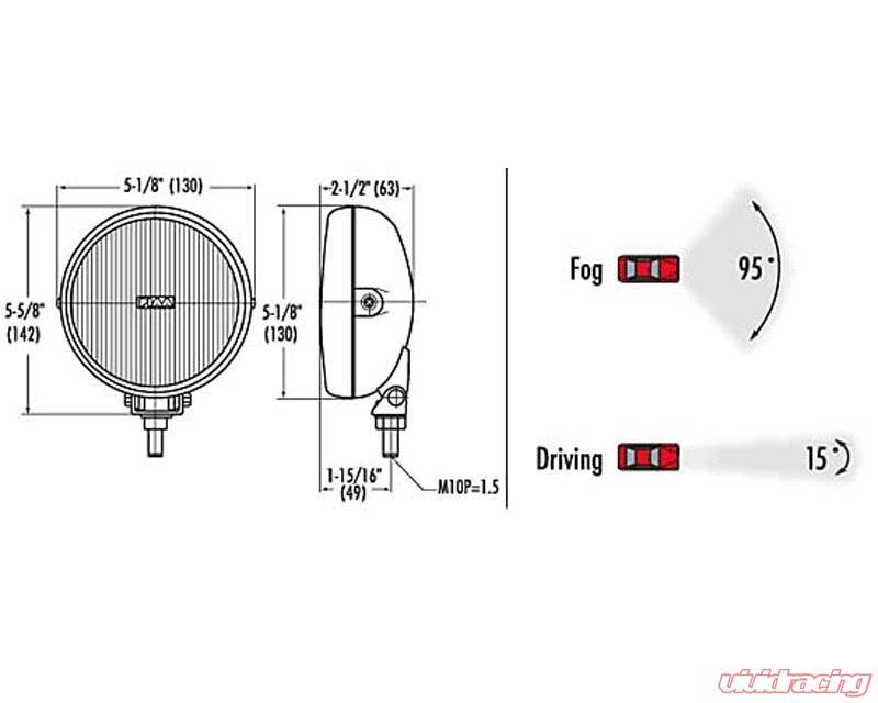Excellent Piaa 540 Series 55W110W Xtreme White Driving Lamp Kit Black Round Wiring Digital Resources Honesemecshebarightsorg
