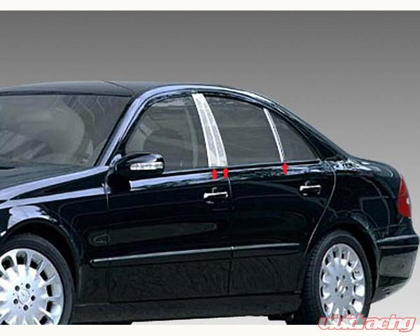 Pp23061 quality automotive accessories 6 piece pillar for Mercedes benz e class accessories