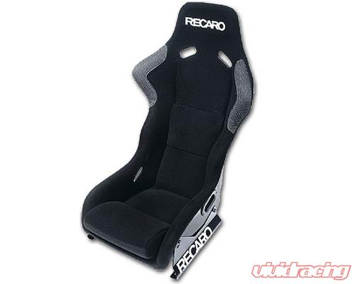 recaro profi seat black velourblack belour white logo