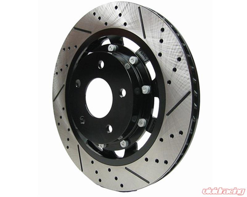 Mazda 6 03 04-09 Drilled Slotted Brake Disc Rotors REAR