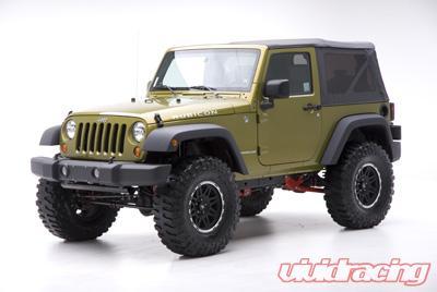Rancho Long Arm Suspension System 4in Lift Jeep Wrangler JK 07-08