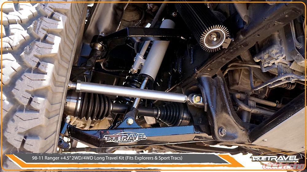 True Travel Dynamics 4 5 Long Kit Ford Ranger Explorer 4wd 95